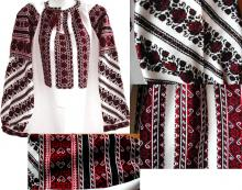 Embroidering traditions in Ukraine
