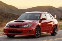 Subaru WRX STI - всегда захватывает мощностью