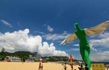 Dameisha and Xiaomeisha beach park near Shenzhen