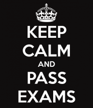 How to pass your exams successfully