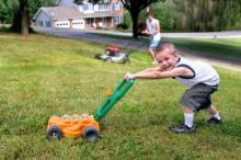Children learn best by observing behaviour