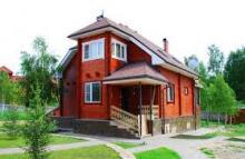 Проекты домов из дерева в Истре